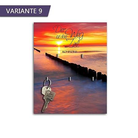 Llavero con diseño El Camino es el Objetivo Llave Tarjeta ...