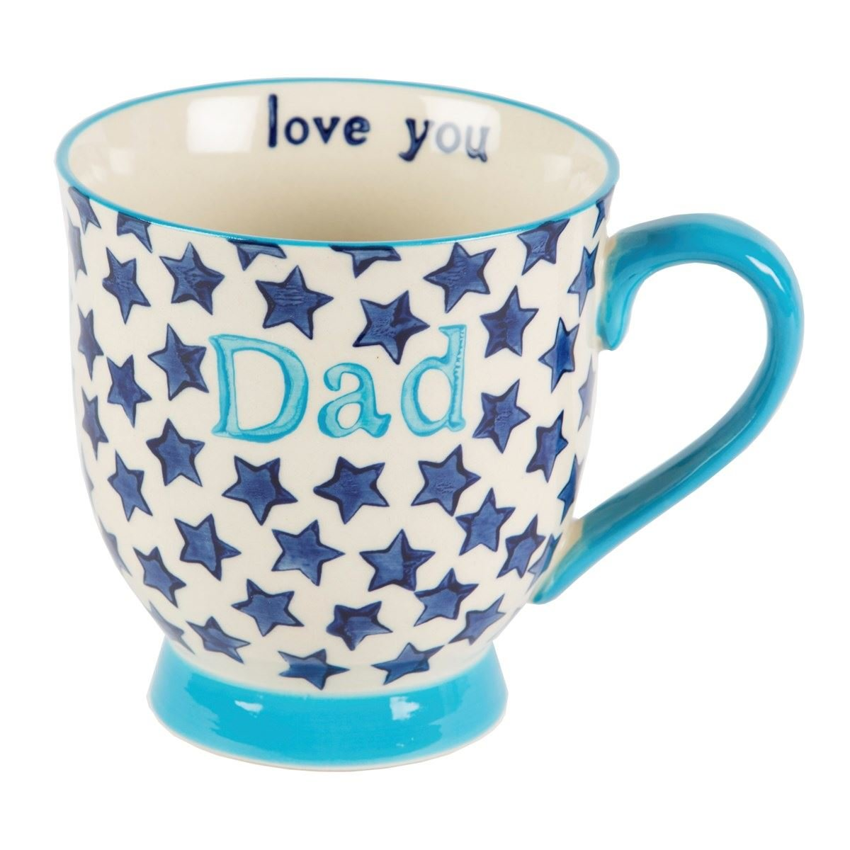 Bohemian Stars Dad Ceramic Mug Maia Gifts