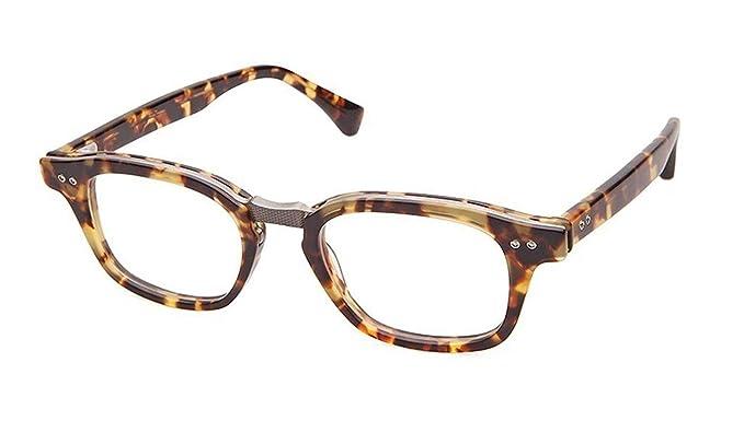7c66dd187cb Eyeglasses Dita INTELLIGENTE DRX 2050 B-TKT-GUN Matte Tokyo Tortoise ...