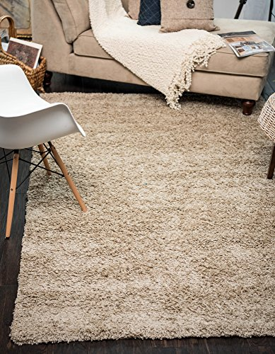 Modern Plush Solid Taupe Contemporary product image
