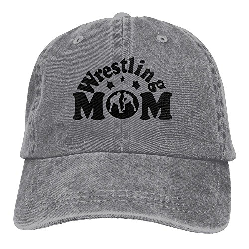 WYFQ501 Wrestling Mom Men's Women's Adjustable Jeans Baseball Hat | Denim Jeanet Dad Hats by WYFQ501