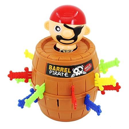 Clyline - Cubo con Forma de Pirata para niños y Amigos, L ...