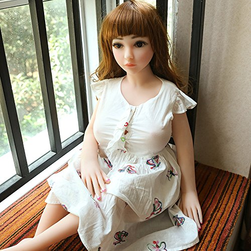 100CM/3.28ft Silicone Sex Doll with Metal Skeleton for Real Sex Love Adult Toy for Men Life Material TPE (100CM / 3.28ft)
