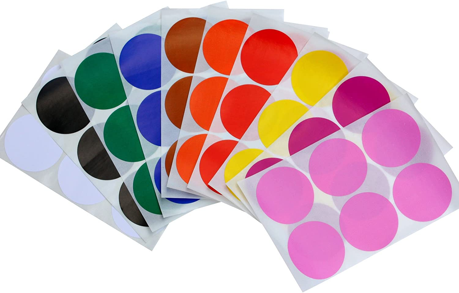 I Voted Today 2 Inch Round Self Adhesive Sticker Red White Blue Color 300 Labels