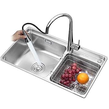 Amazon.com: Cocina fregaderos lavavajillas piscina 304 ...