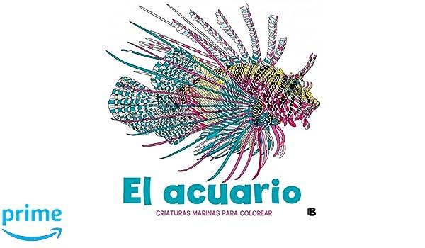 El acuario: Criaturas marinas para colorear (VARIOS): Amazon.es ...