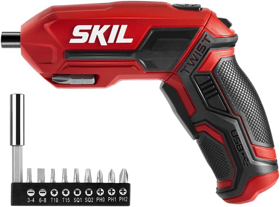 SKIL 4V Pivot Grip Rechargeable Cordless Screwdriver – SD561802