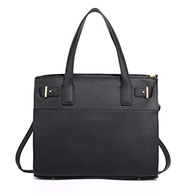 Ladies Large Tote Handbags Womens Faux Leather Shoulder Bags Designer Style New