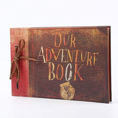 Napoto Álbum De Fotos DIY Libro De Recortes Vintage Libro De ...