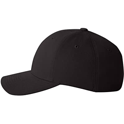 6580 Yupoong Flexfit Performance Wool-Like Poly Cap