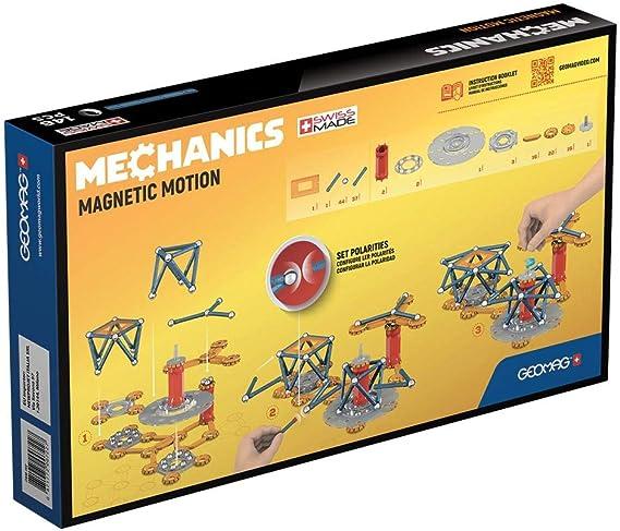 Geomag-Mechanics Motion 762 Juego de construcción magnético de 146 Piezas, Multicolor, (GM762): Amazon.es: Juguetes y juegos