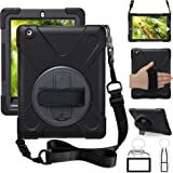 ZenRich iPad 2nd Gen Case, iPad 3rd Gen Case, iPad 4th Gen Case, Kickstand Hand Strap & Shoulder Belt zenrich Shockproof…