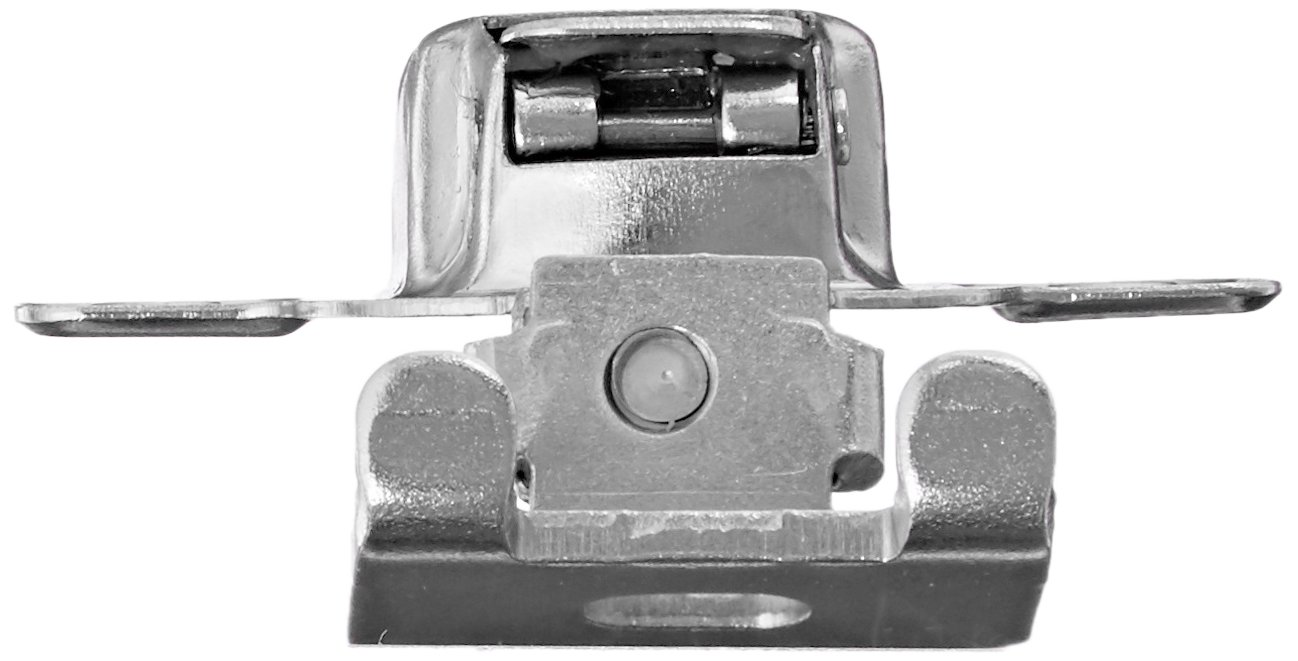 Amerock BP2811D1314 Matrix Concealed Hinge, 1-3/4in(45mm) Hole Pattern Hinge with 1-3/8in(35mm) Overlay - Nickel by Amerock (Image #2)