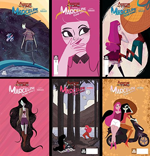 Adventure Time Marceline Gone Adrift 1-6 - Complete Bundle of 6 BOOM! Studios Comics!!