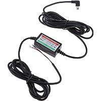 Homyl Durável 8 / 36V a 5V 3A Car Dash Cam Hardwire Kit Mini USB Right Bend Head