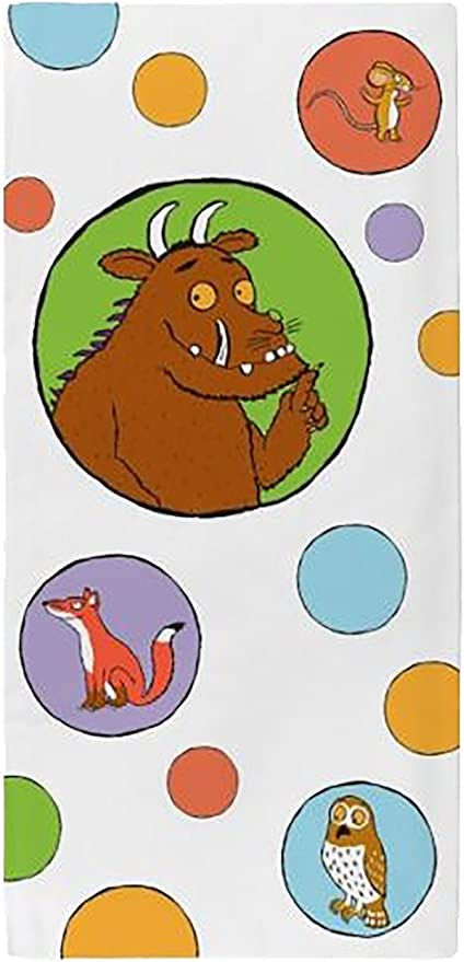 Brand New The Gruffalo All In Quiet Printed Cotton Boys Girls Bath Towel