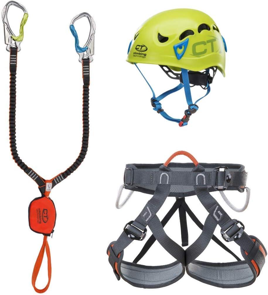Climbing Technology Escoba Premium Galaxy Set ferrata, Multicolor, Talla unicaca