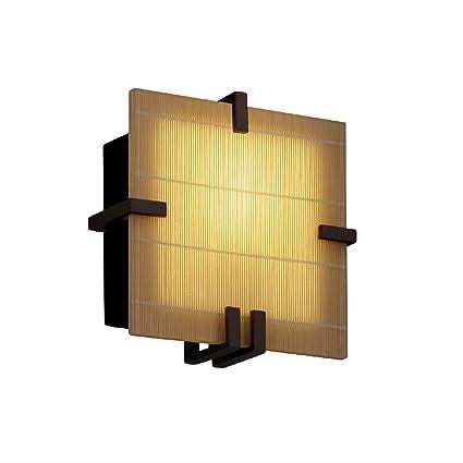 Amazon.com: 3 forma – Clips cuadrado candelabro de pared ...