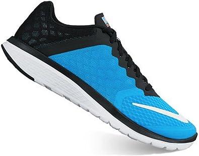 Nike 807145-403, Zapatillas de Trail Running para Mujer, Azul (Blue Glow/White-Black-Bright Mango), 35.5 EU: Amazon.es: Zapatos y complementos