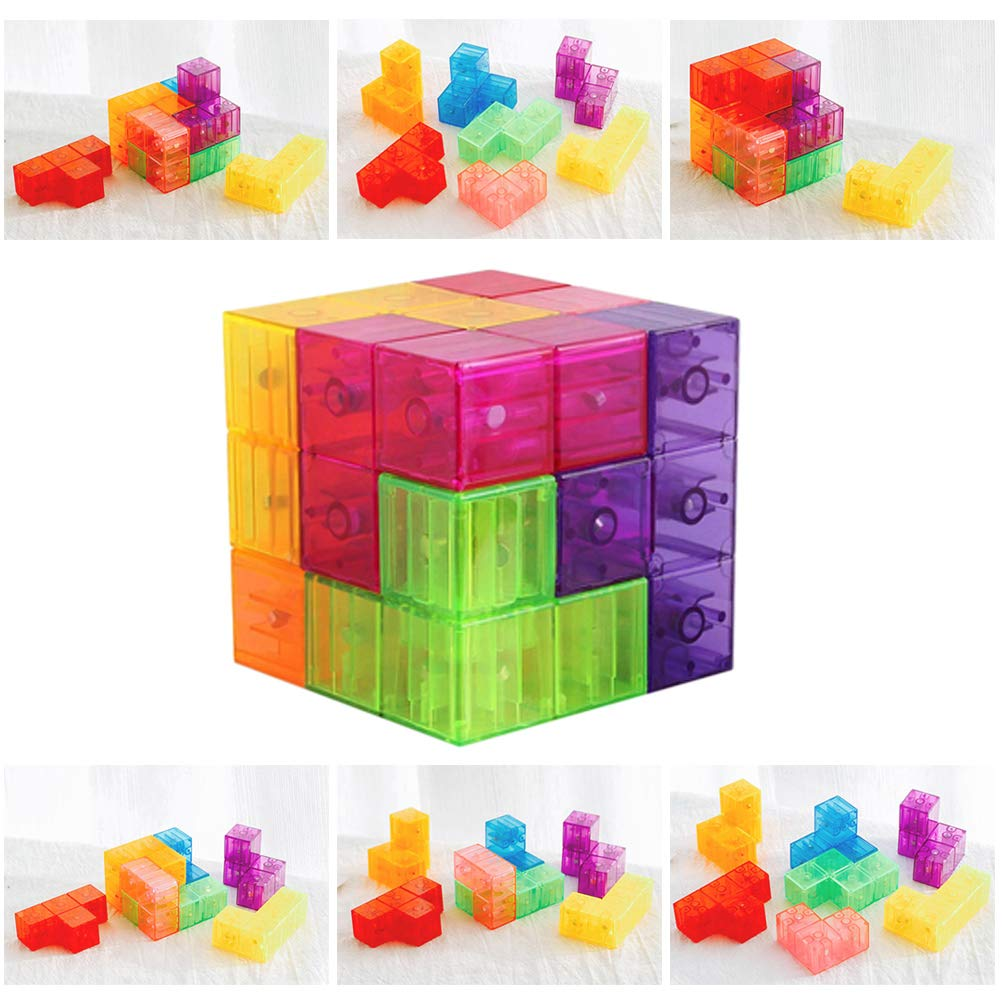 Axis Magnetic Mathematics Arithmetic Learning Kid Puzzle Educational Cube Toy UK