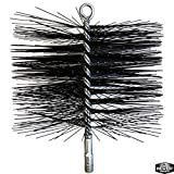 8 chimney brush - Midwest Hearth Wire Chimney Cleaning Brush (8-Inch Round)