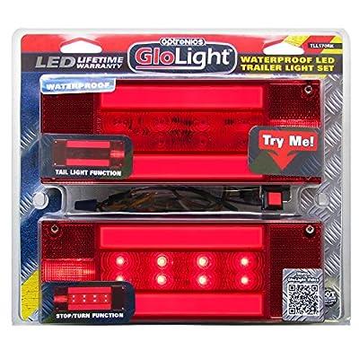 Optronics TLL170RK Red Rectangular Combination Tail Light Kit: Automotive