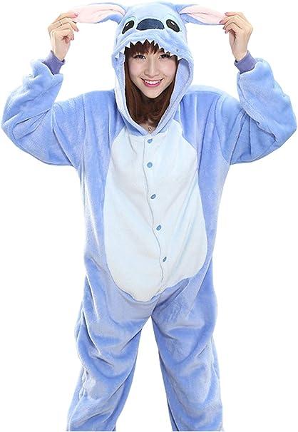 Sweet Invierno Pijama para Mujer Diseño de Animal Unisexo Adulto ...