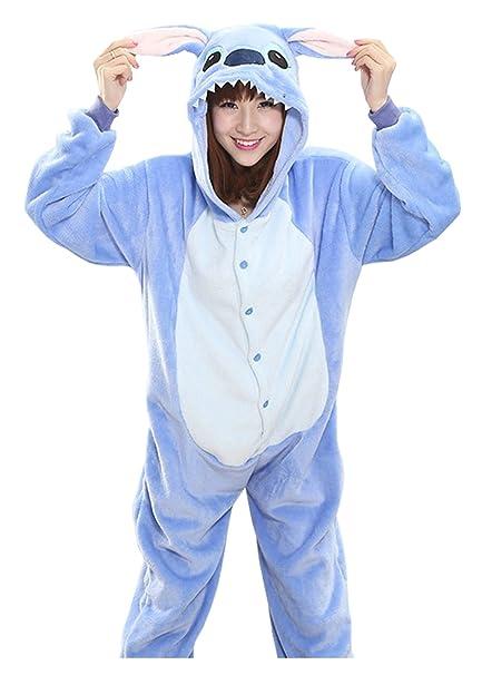 Sweet Invierno Pijama Para Mujer Diseño de Animal Unisexo Adulto Traje Disfraz: Amazon.es: Ropa y accesorios