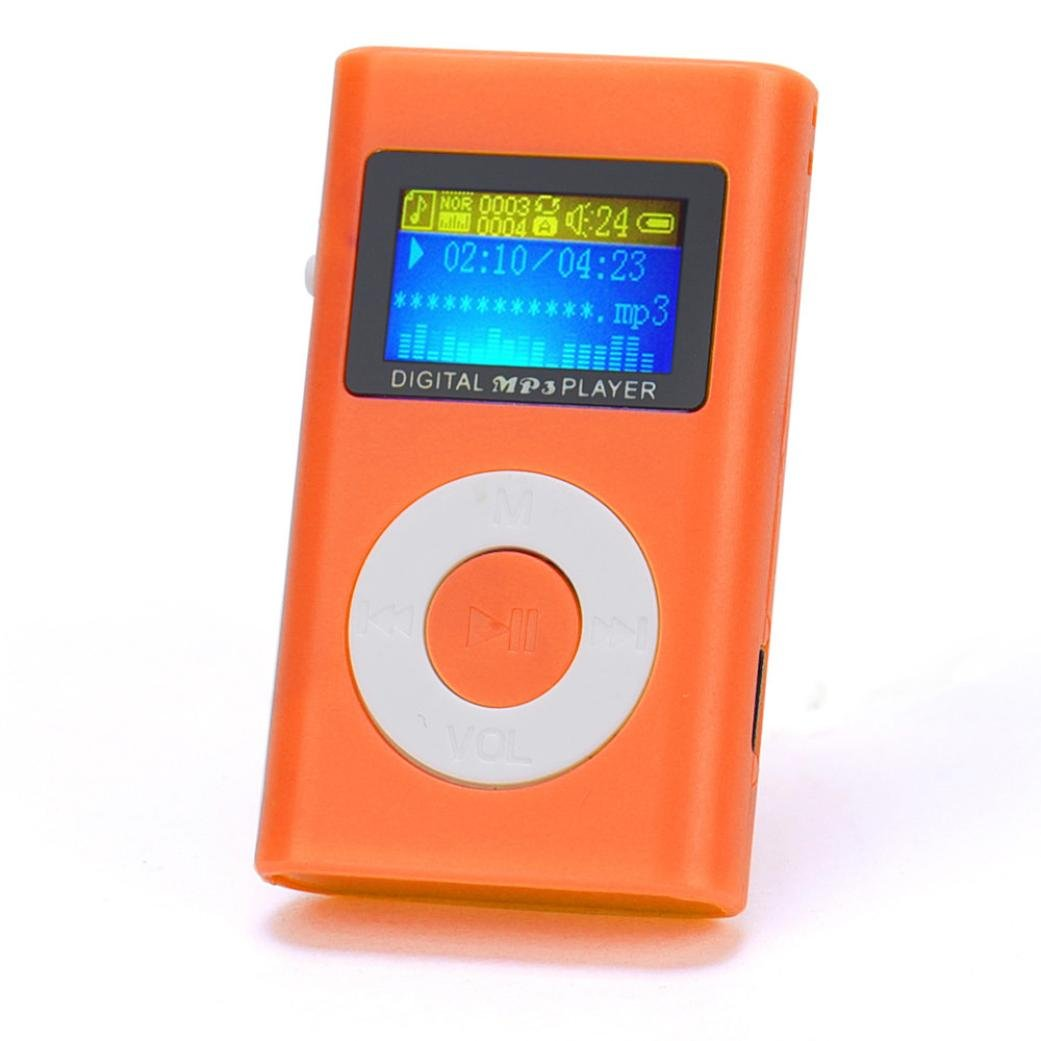 Susenstone USB Mini MP3 Player LCD Screen Support 32GB Micro SD TF Card Susenstone_1336