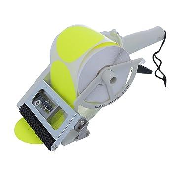 te-office Towa Etiquetas MANO Portarrollos Dispensador de etiquetas handspendegerät de plástico para Etiquetas Adhesivas Manual 50 bis 100 mm: Amazon.es: ...
