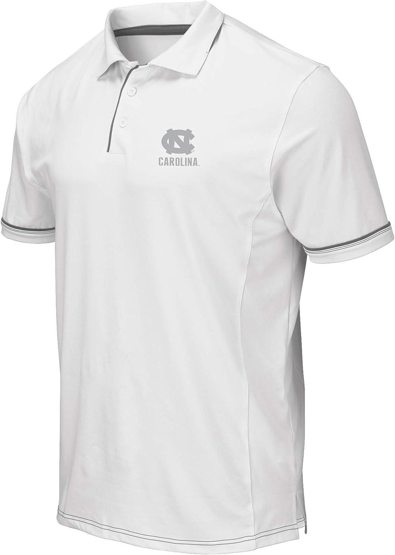 Colosseum Men's NCAA-Ice- Golf/Polo Shirt-White