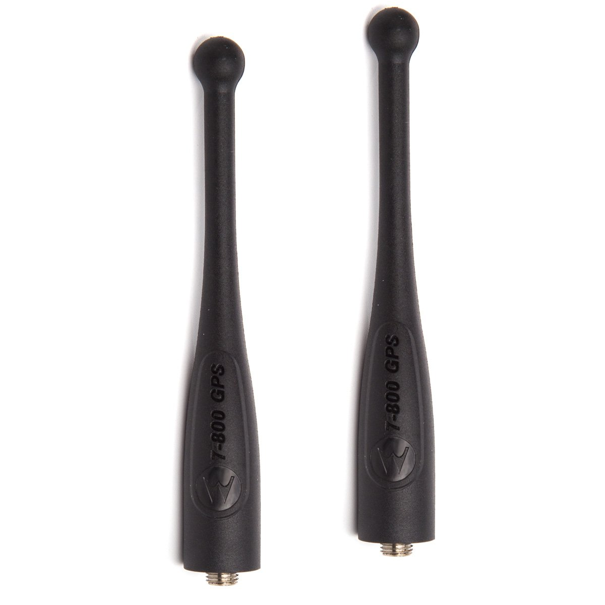 LUITON NAR6595 Antenna Compatible with Motorola APX 764-870 MHz Single-Band GPS Stubby Antenna (2Pack)