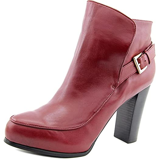 Flora Women US 7.5 Burgundy Ankle Boot