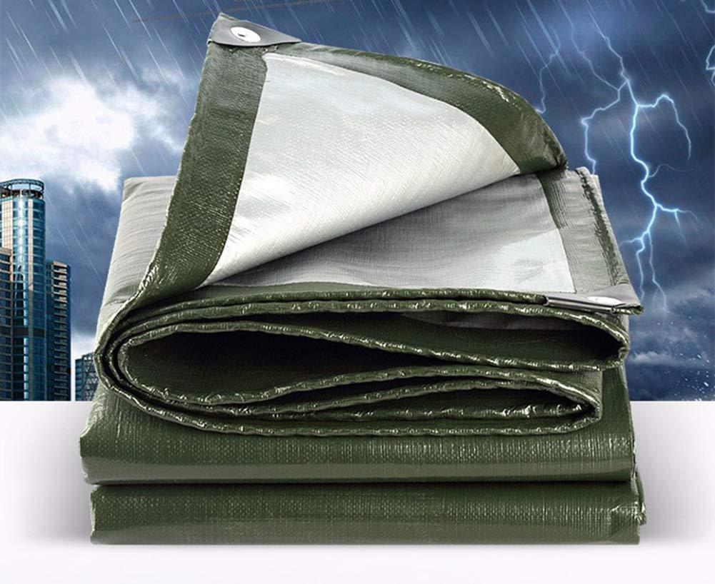 Verdicken Sie im Freien Regenschutztuch wasserdicht wasserdicht wasserdicht Sonnenschutzplane Schatten, der den Regenschuppen-LKW bedeckt Öl-Überdachung Regenplane B07HCL5FN2 Zeltplanen Vollständige Spezifikation c08fec