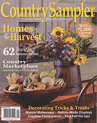 Country Sampler Magazine September 2017 -