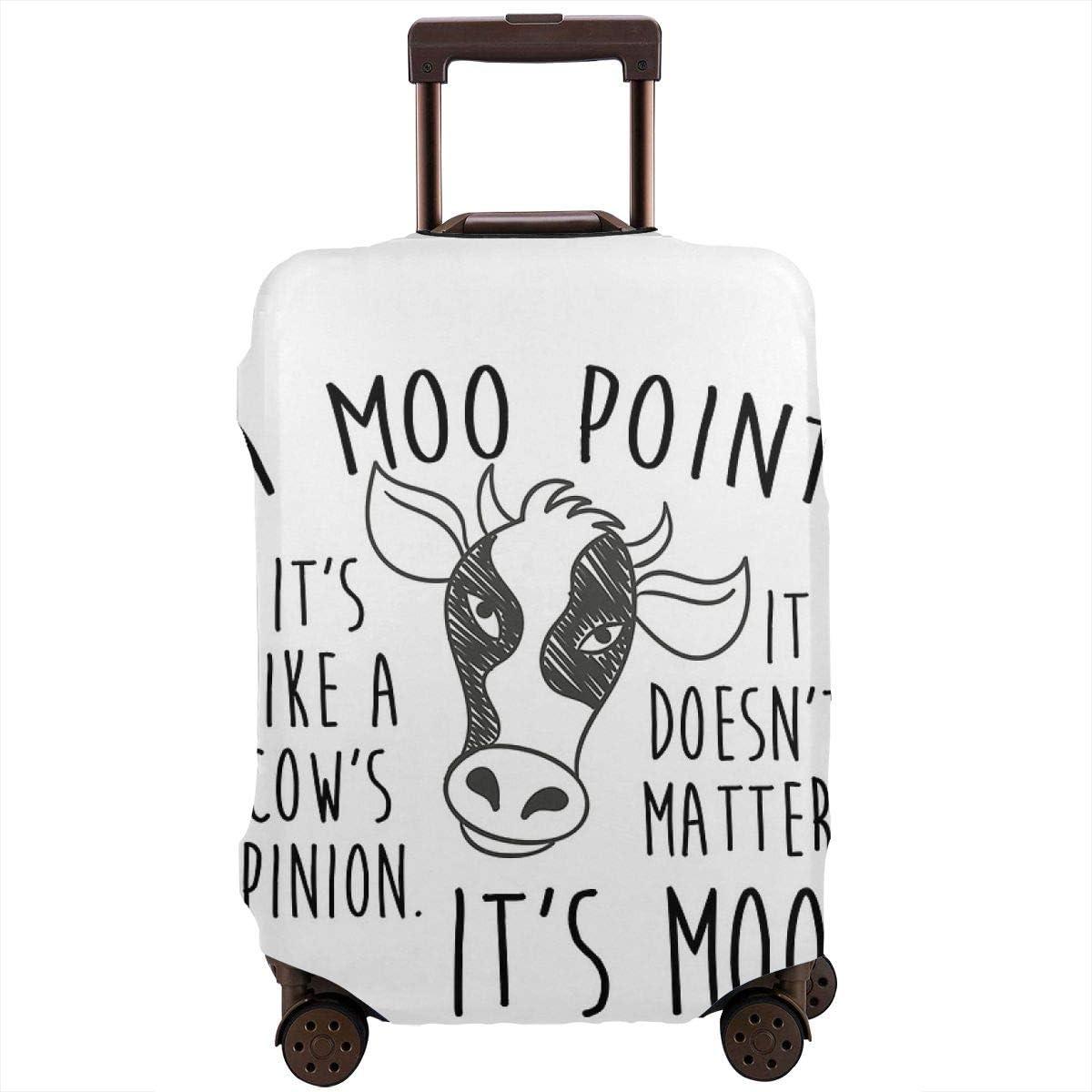 A MOO Point Funda de Equipaje de Viaje para Maleta de 26 – 28 Pulgadas
