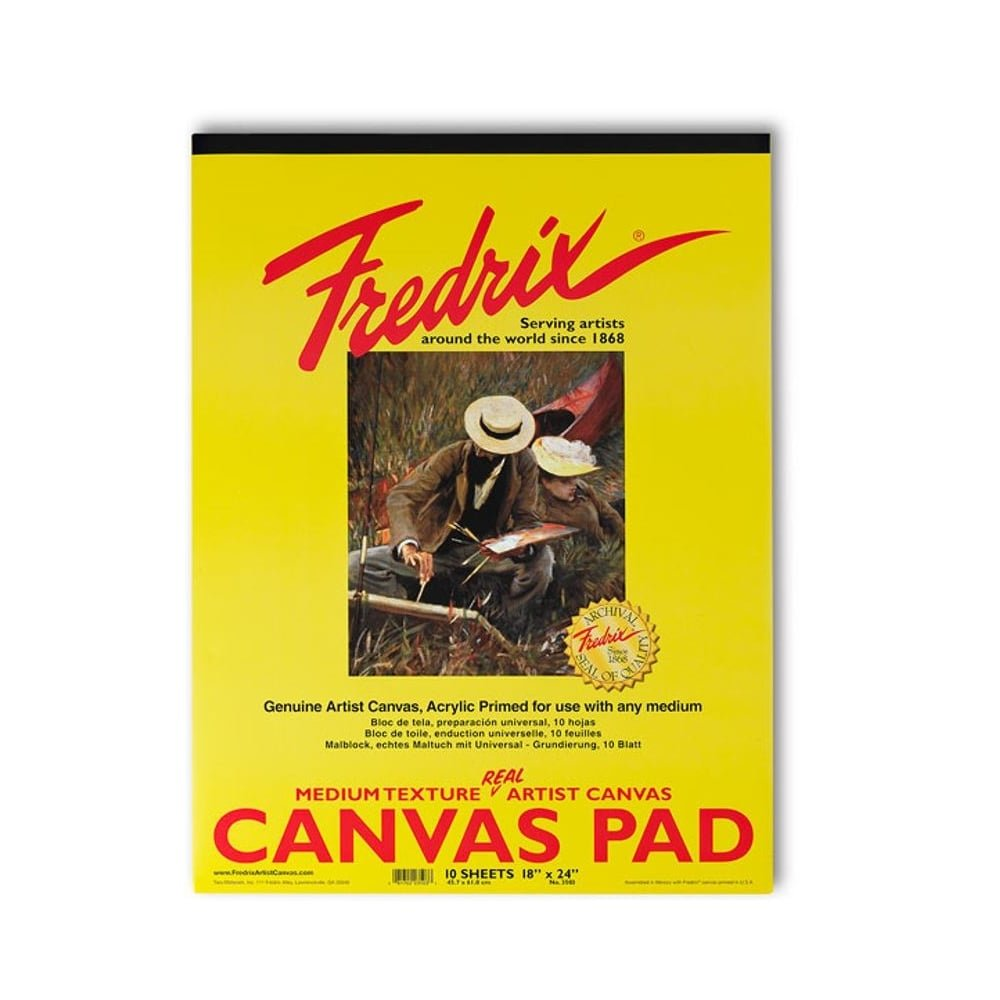 Fredrix 16 by 20-Inch Canvas Pads Tara Materials Inc. 3502
