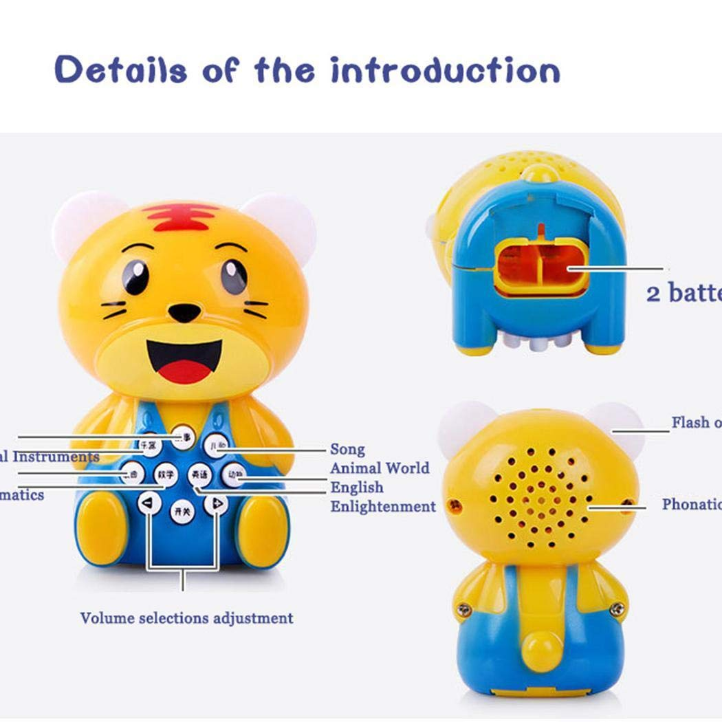 YENJO Mini Cartoon Children's Story Early Learning Machine Kids Education Toys Electronic Systems by YENJO (Image #6)