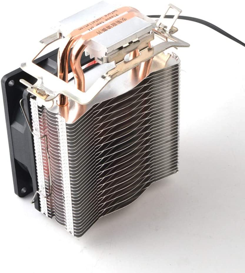 Hexiaoyi Cooling Double Heat Pipe with Light CPU Radiator Desktop Multi-Platform Copper Pipe