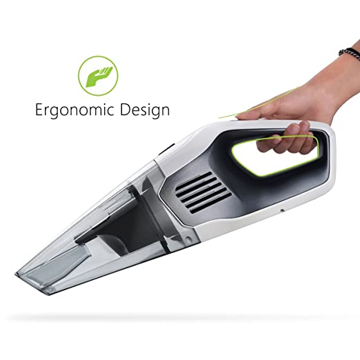 LIGHTENING DEAL: QUICK CHARGE CORDLESS HAND HELD CAR CLEANER VACUUM