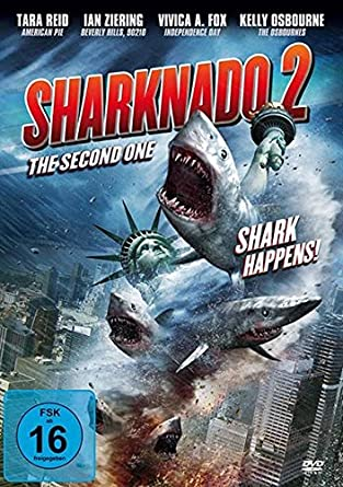 SHARKNADO 2 - The Second One - The Sharks Happens UNCUT - DVD ...