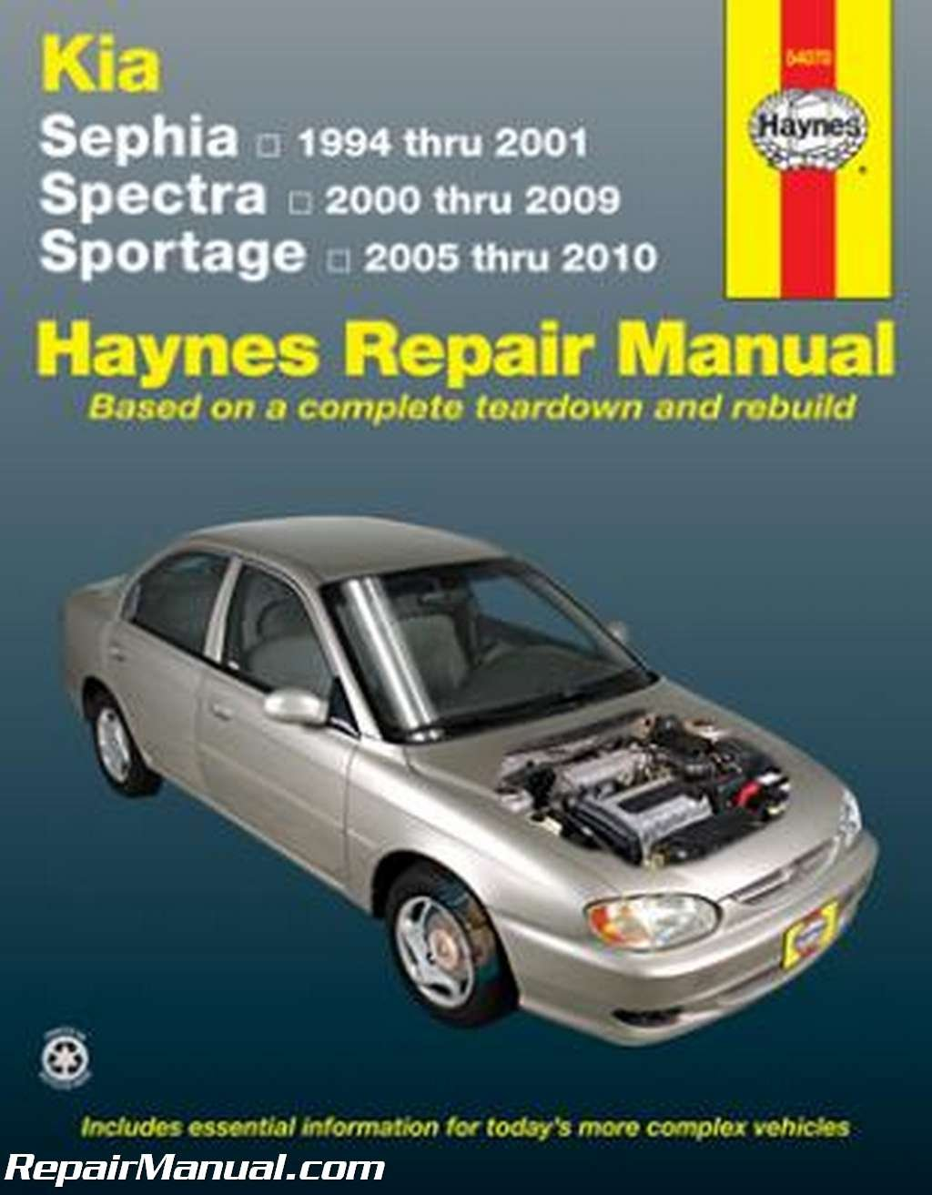 H54070 Haynes 1994-2001 Kia Sephia 2000-2009 Spectra 2005-2010 Sportage  Auto Repair Manual: Manufacturer: Amazon.com: Books