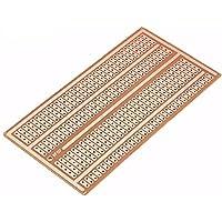 Bluelover 10 st 5 x 10 cm enkelsidig koppar prototyppapper PCB breadboard 2–3–5 foghål