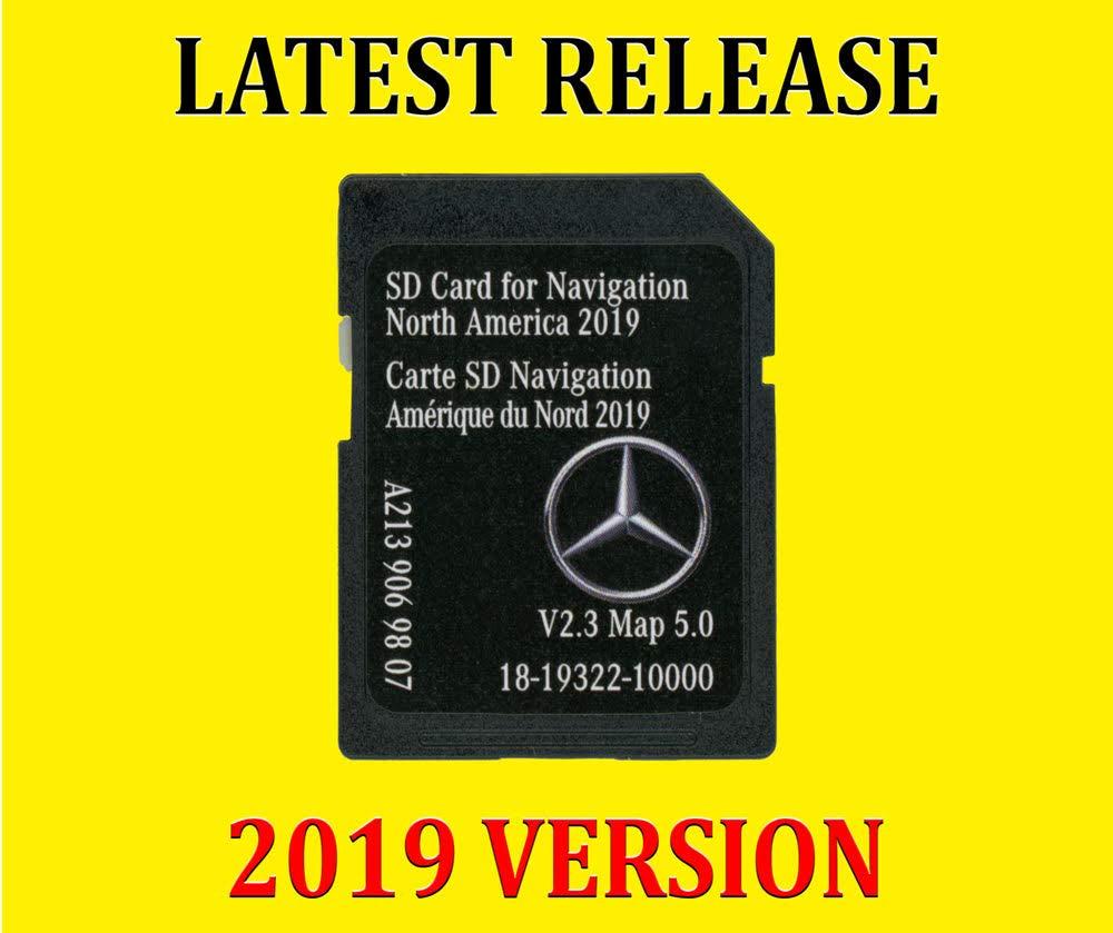 New 2018 2019 Mercedes-Benz Navigation Part A2139069807 SD Card
