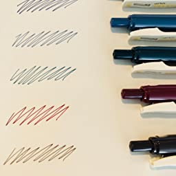 Amazon ゼブラ ジェルボールペン サラサクリップ 0 5 ネオン 5色 Jj15 5c No ジェルインクボールペン 文房具 オフィス用品