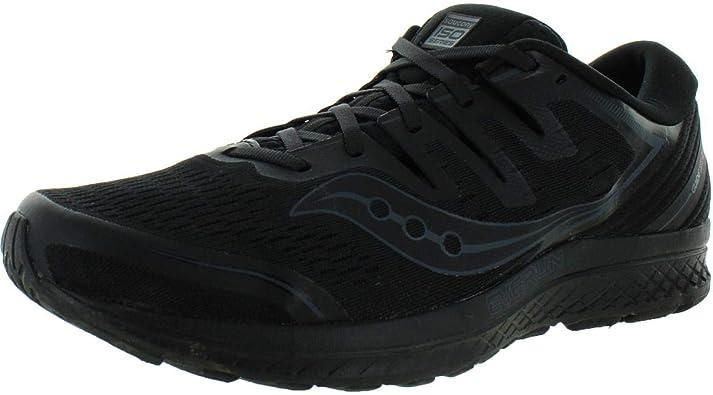 Amazon.com | Saucony Guide ISO 2 Men 11.5 Black | Black | Shoes