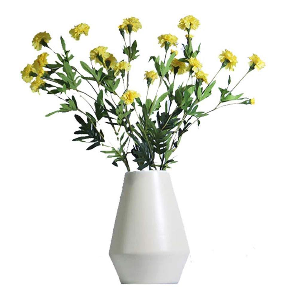 ヨーロッパスタイルのセラミック花瓶用花グリーン植物結婚式の植木鉢装飾ホームオフィスデスク花瓶花バスケットフロア花瓶 B07QPH8LBB