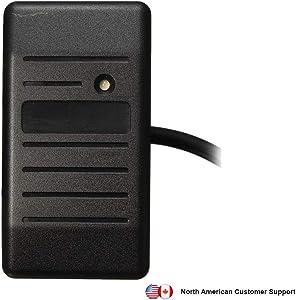 Secure Server Canada Universal Waterproof/Weatherproof RFID Wiegand Access Card Reader