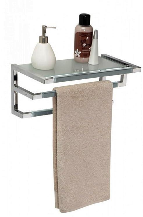 Allibert Serie Vogue 513 - Mueble para Cuarto de baño, toallero de Pared, Color