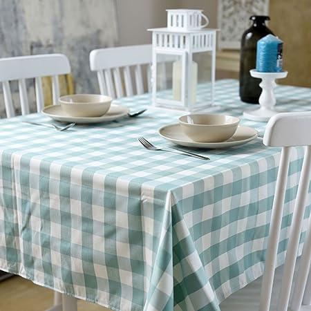 Home-Mesa de Centro escandinava de algodón y Lino Mantel ...